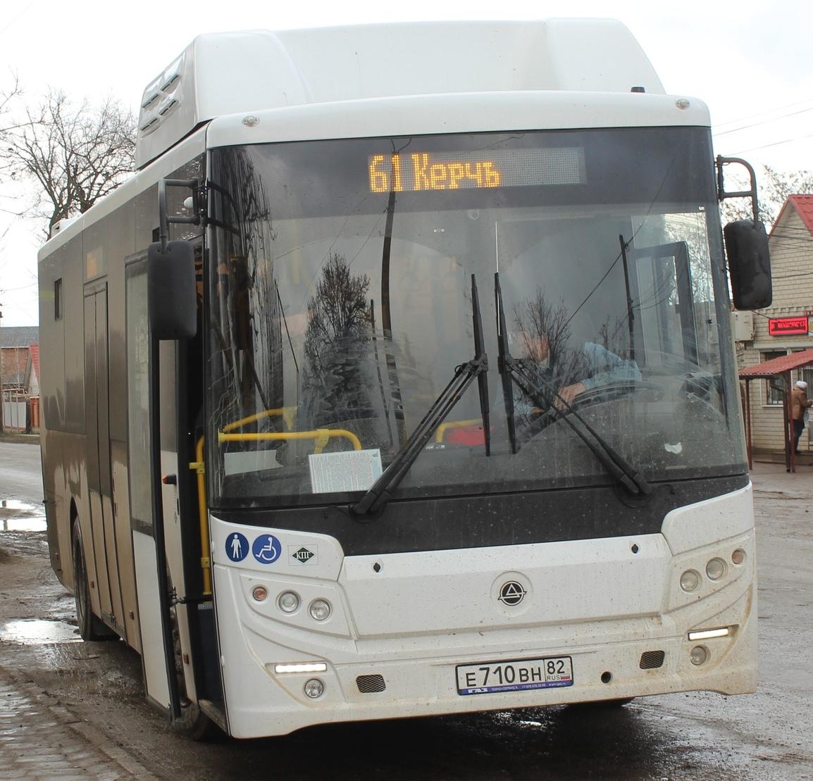 В Керчи на пригородные маршруты вышли 15 новых автобусов