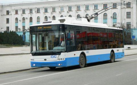 В Крыму появится карточка для оплаты поездки в троллейбусе